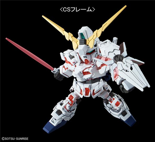 SD CROSS SILHOUETTE GUNDAM UNICORN DESTR
