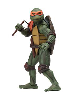 NECA - TMNT 1990 MOVIE MICHELANGELO