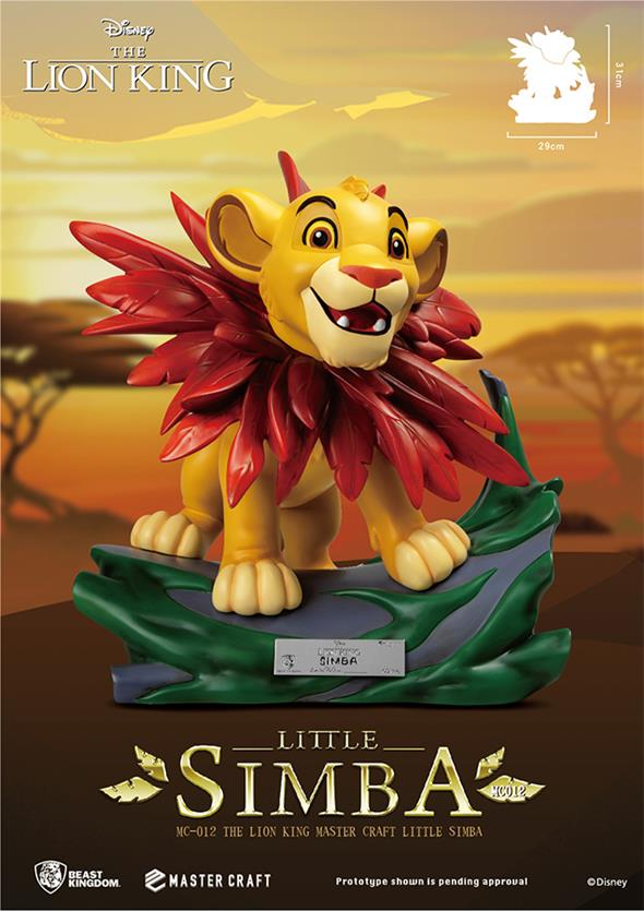 MASTER CRAFT - THE LION KING LITTLE SIMBA