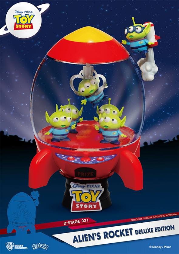 D-STAGE - TOY STORY ALIEN ROCKET DLX