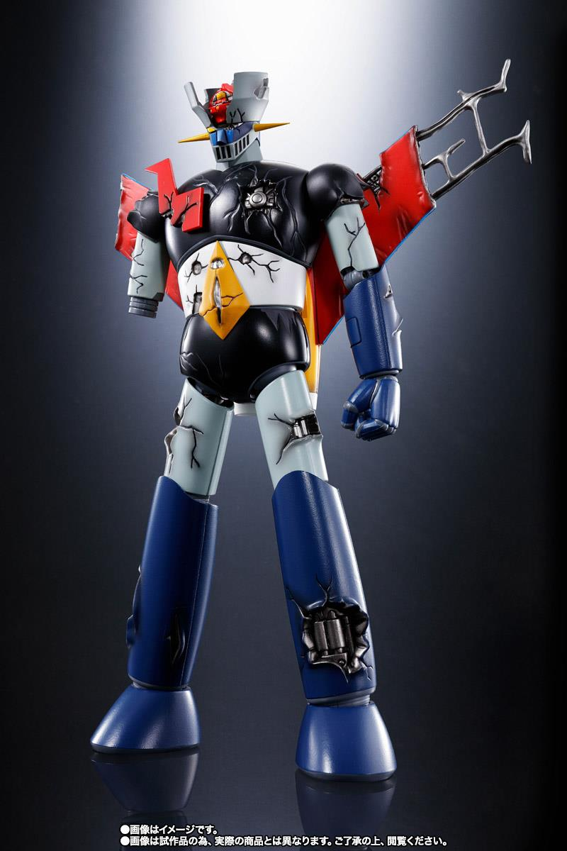 SOC GX-70SPD MAZINGER Z DC DAMAGED ANIME COLOR