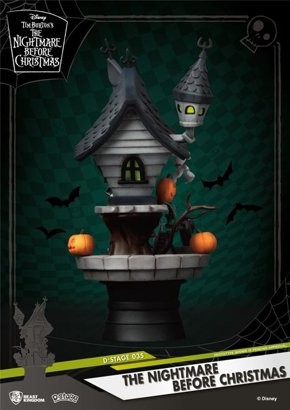 D-STAGE NIGHTMARE BEFORE CHRISTMAS FIG