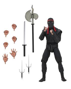 NECA - TMNT FOOT SOLDIER (BLADED WEAPONRY)