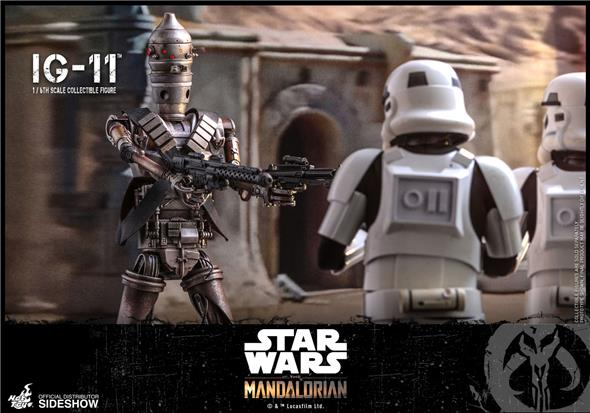 1/6 HOT TOYS - STAR WARS: THE MANDALORIAN - IG-11