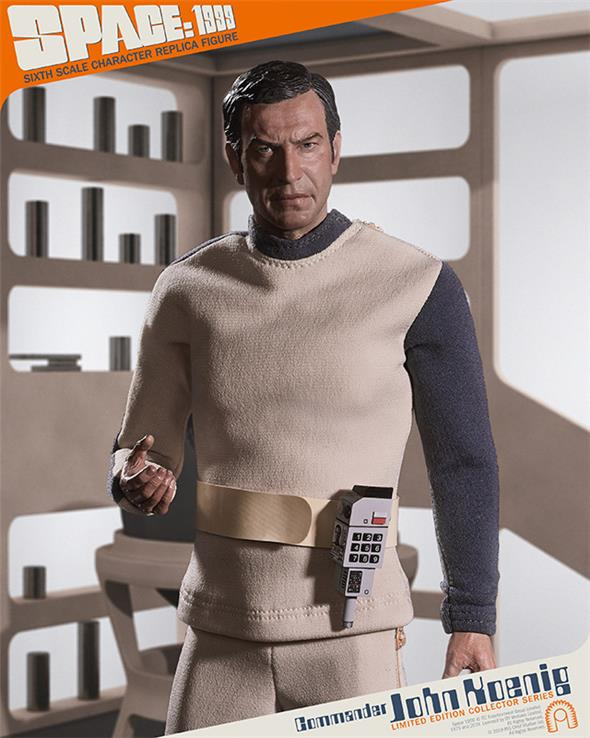 1/6 SPACE 1999 COMMANDER JOHN KOENIG