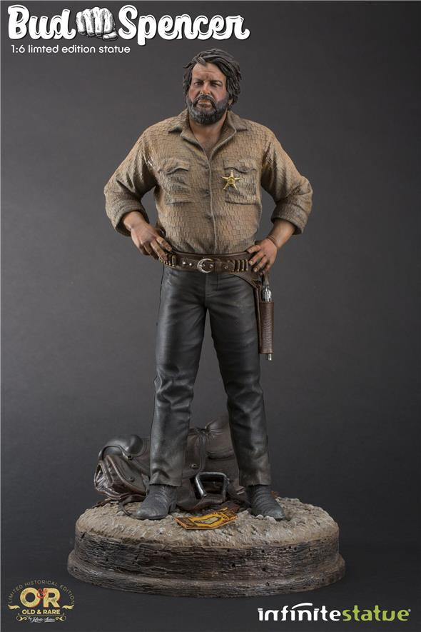 1/6 BUD SPENCER OLD&RARE RESIN STATUE (PREORDINE)