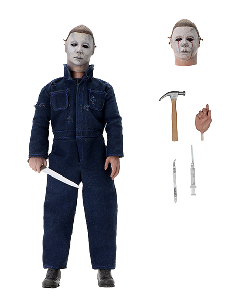 NECA - HALLOWEEN 2 MICHAEL MYERS CLOTHED FIGURE