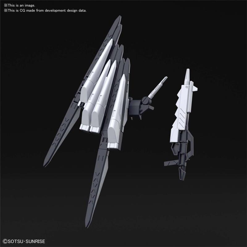 1/144 HGBDR ENEMY GUNDAMS NEW WEAPONS
