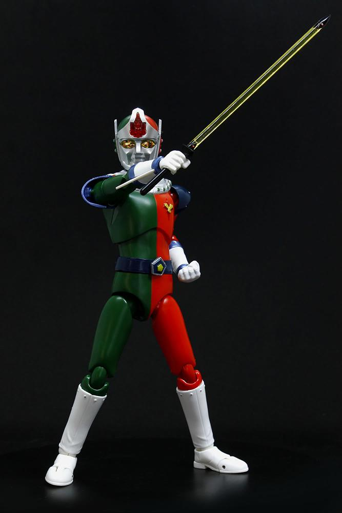 IZENBORG HERO ACTION FIGURE