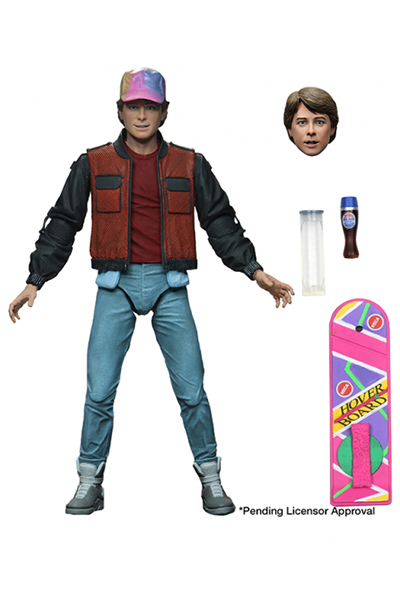 neca - bttf 2 marty mcfly ultimate edition