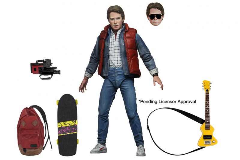 neca - bttf marty mcfly ultimate edition