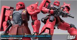 gundam fix figuration - ms-05s char aznable zaku i