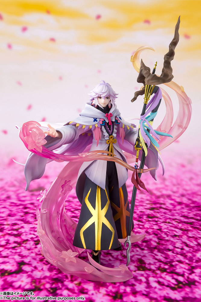 figuarts zero - fate g/o merlin the mage of flowers