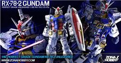 1/60 perfect grade gundam rx-78-2 unleashed (secondo stock)