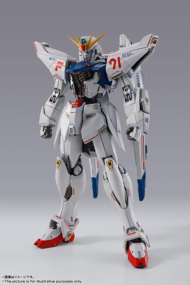 metal build gundam f91 chronicle white