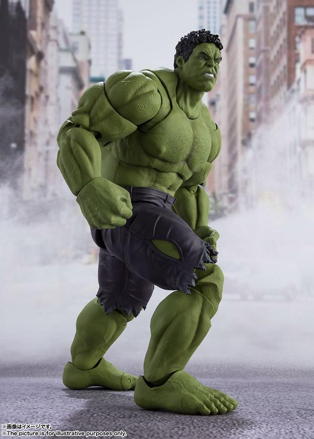 s.h. figuarts - avengers assemble hulk