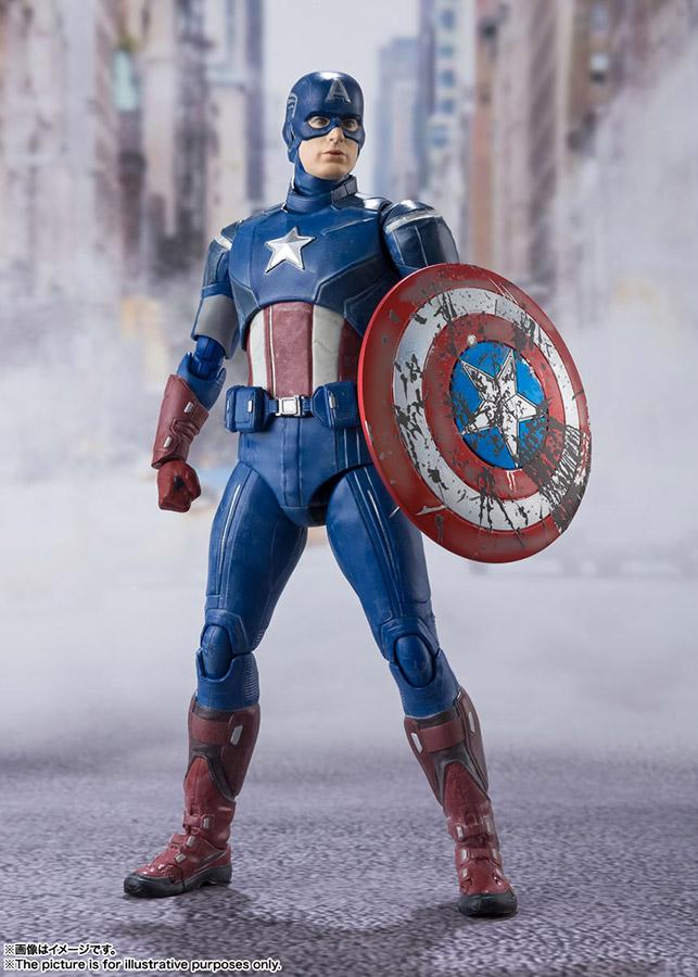 s.h. figuarts - avengers assemble captain america