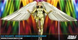 s.h. figuarts - wonder woman golden armor