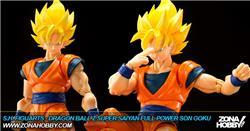 s.h. figuarts - dragon ball z super saiyan full power son goku
