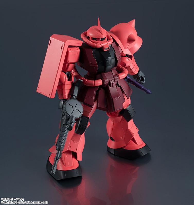 gundam universe ms-06s chars zaku ii