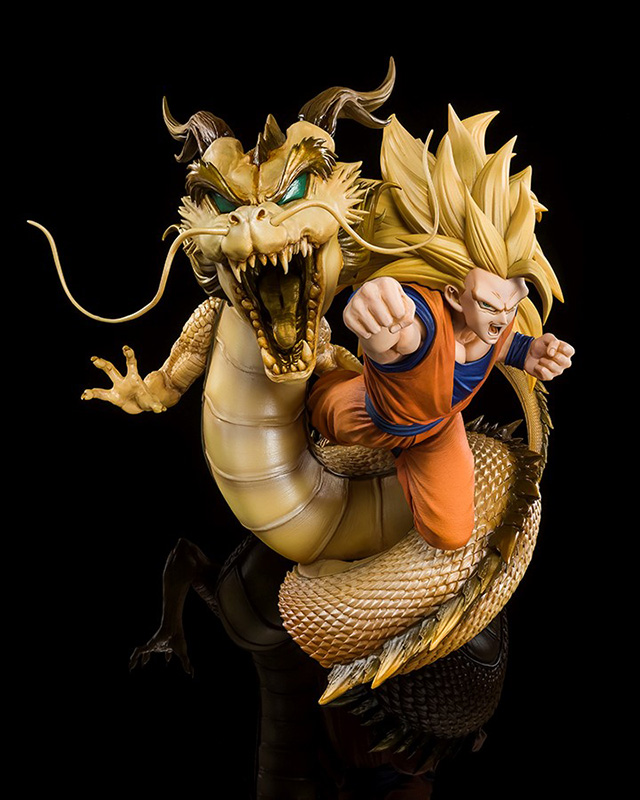 figuarts zero - dragon ball goku super saiyan 3 dragon