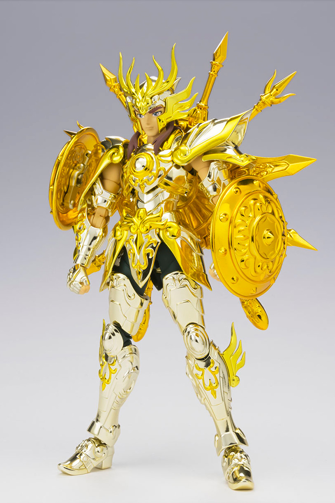 saint seiya myth cloth soul of gold (restock) - libra dohko