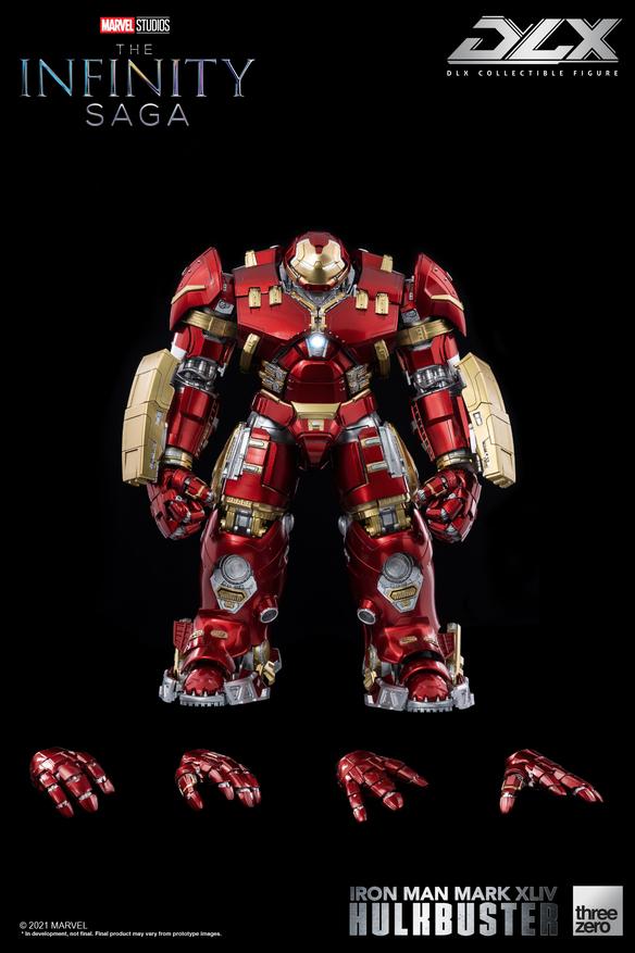 infinity saga iron man dlx hulkbuster