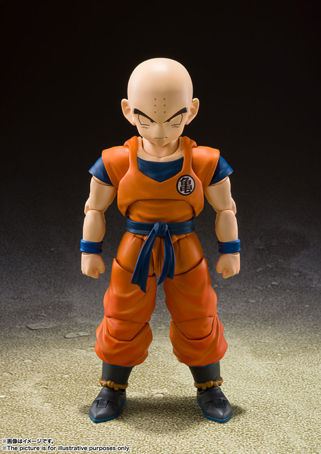 s.h. figuarts - ball z krillin earth strong man