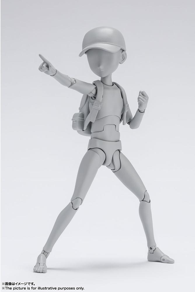 s.h. figuarts - body kun ken sugimori dlx gray