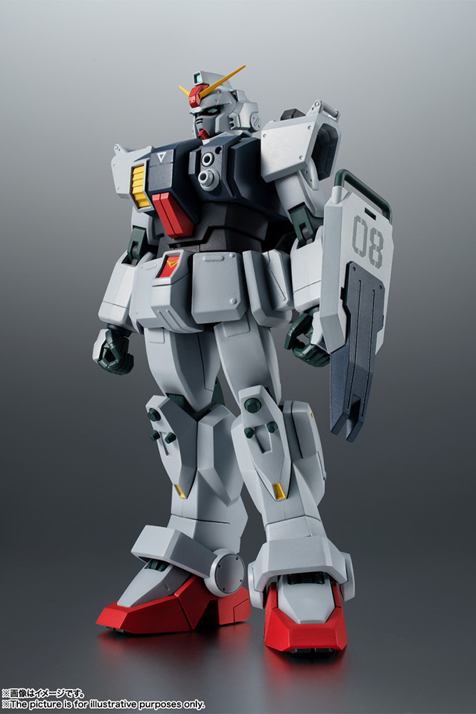 robot spirits - rx-79(g) gundam ground type