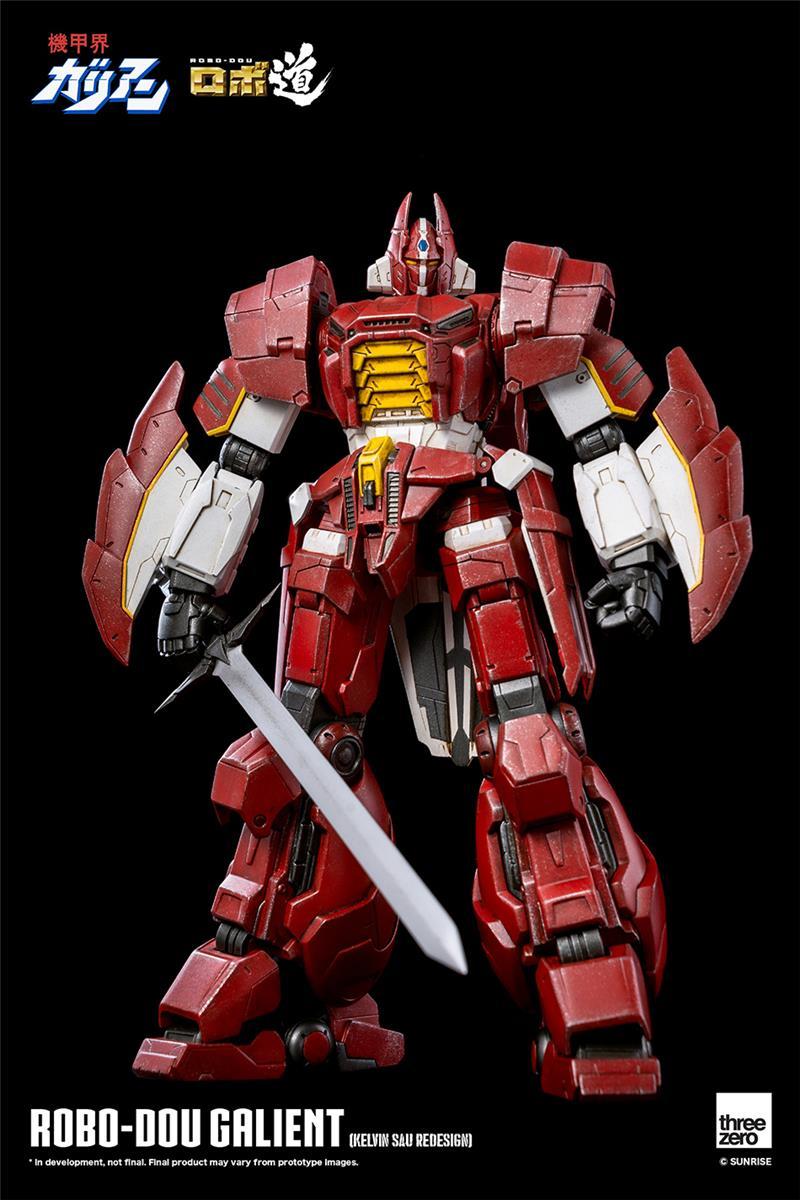 threezero - robo-dou galient kelvin sau redesign
