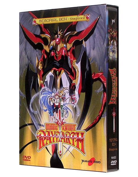 DVD - MAGIC KNIGHT RAYEARTH-MEMORIAL BOX- STAGIONE 2