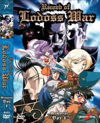 DVD - RECORD OF LODOSS WAR SERIE TV BOX 1 (5 DVD)