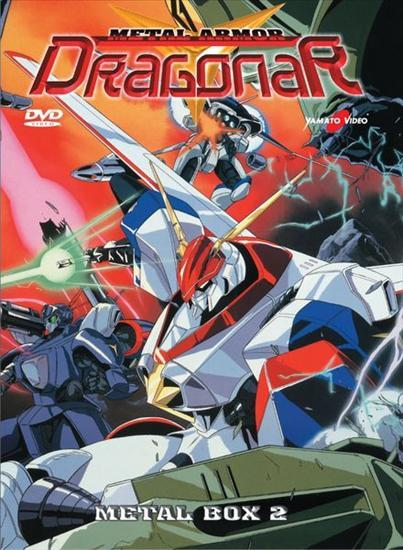 DVD - METAL ARMOR DRAGONAR BOX 2 (4 DVD)