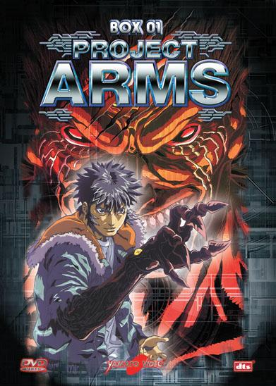 DVD - PROJECT ARMS BOX 1 (4DVD)