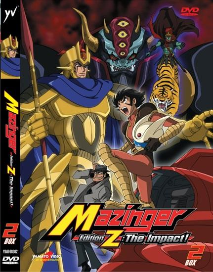 DVD - MAZINGER EDITION Z: THE IMPACT! BOX 2 (2DVD)