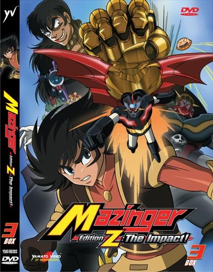 DVD - MAZINGER EDITION Z: THE IMPACT! BOX 3 (2DVD)