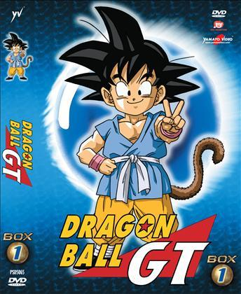 DVD - DRAGON BALL GT - BOX 1 (5 DVD)