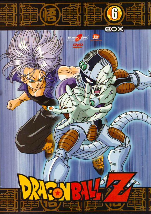 DVD - DRAGON BALL Z - BOX 06 (5 DVD)