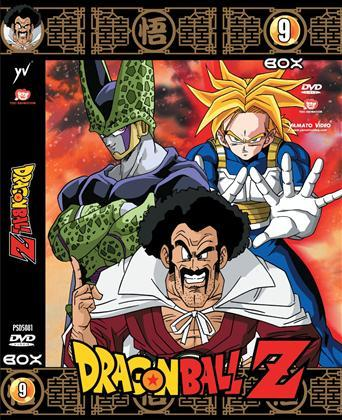 DVD - DRAGON BALL Z - BOX 09 (5 DVD)