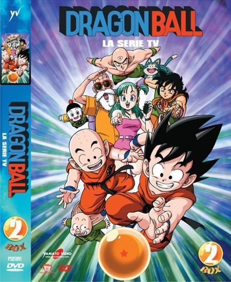 DVD - DRAGON BALL - BOX 02 (5 DVD)