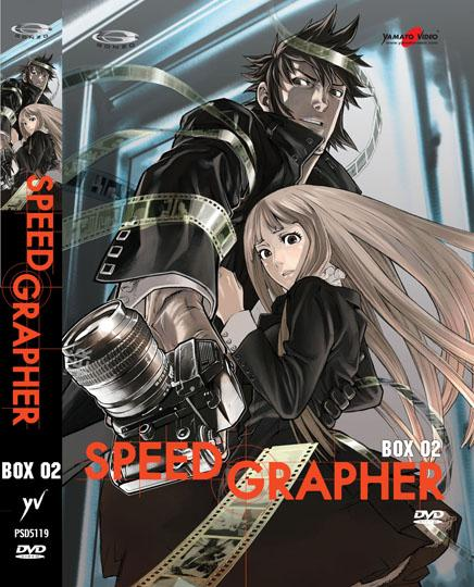 DVD - SPEED GRAPHER - BOX 2 (3DVD)