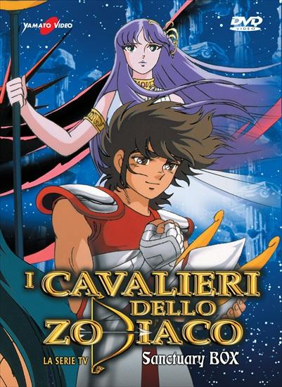 DVD - I CAVALIERI DELLO ZODIACO - SERIE TV BOX 1 (10 DVD)