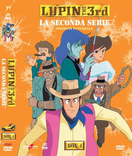 DVD - LUPIN III: LA SECONDA SERIE BOX 4 (5 DVD) EDIZIONE INTEGRALE