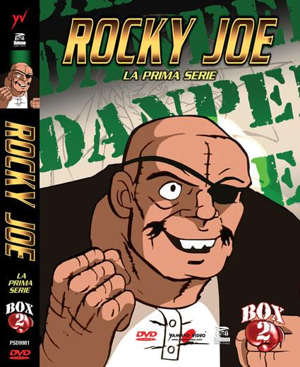 DVD - ROCKY JOE - LA PRIMA SERIE - BOX 2