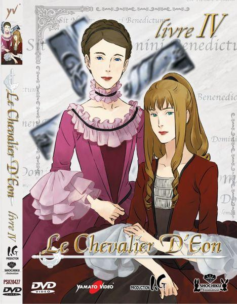 DVD - LE CHEVALIER D`EON VOL. 4