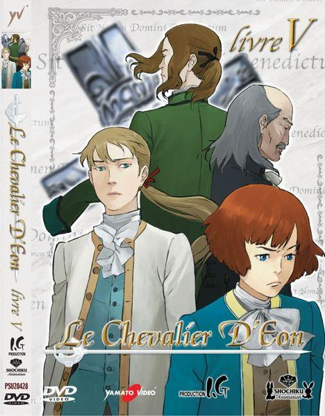 DVD - LE CHEVALIER D`EON VOL. 5