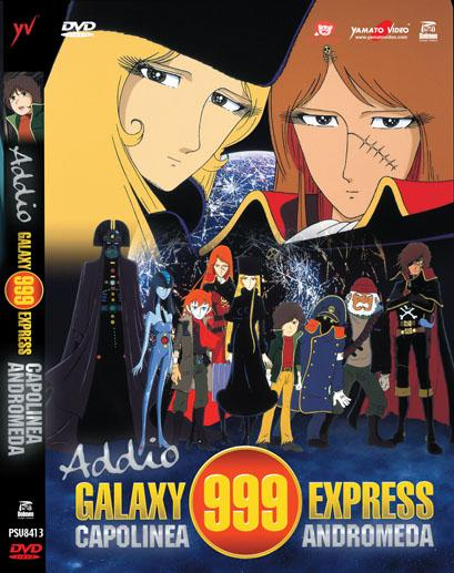 DVD - ADDIO GALAXY EXPRESS 999 CAPOLINEA ANDRO