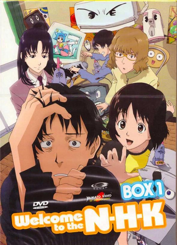DVD - WELCOME TO THE NHK - BOX #01 (EPS 01-12) (2 DVD)