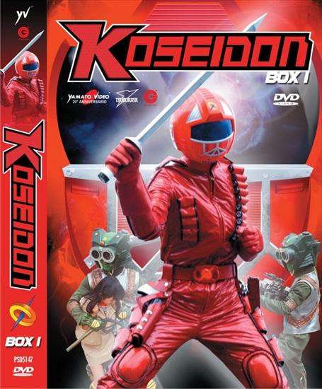DVD - KOSEIDON - BOX 1 (4 DVD)